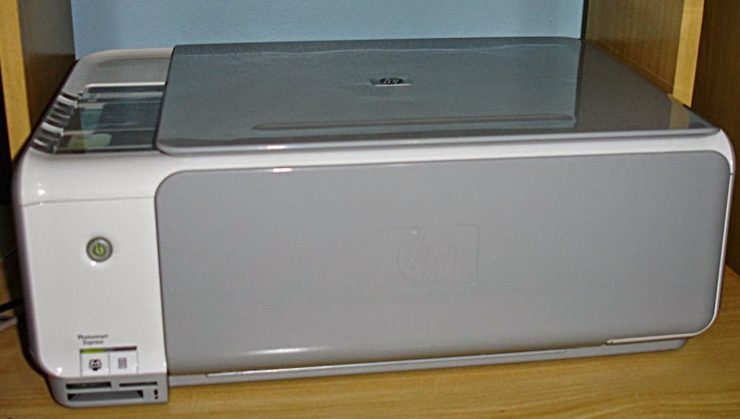 hp printer with ink cartridges