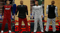 NBA 2K14 Real Bench Uniforms