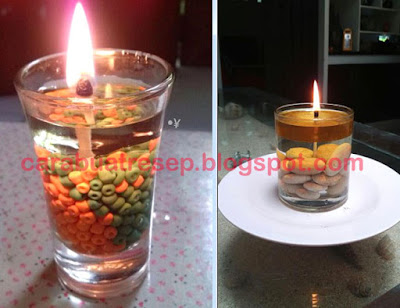 Foto Resep Cara Membuat Lampu Pengganti Lilin (Emergency Candles)