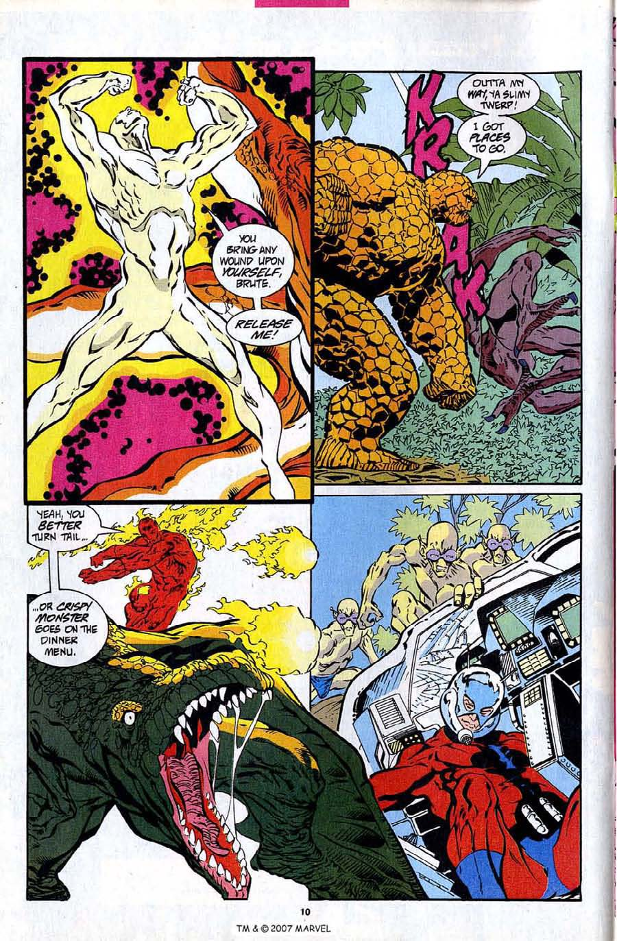 Read online Silver Surfer (1987) comic -  Issue #94 - 12