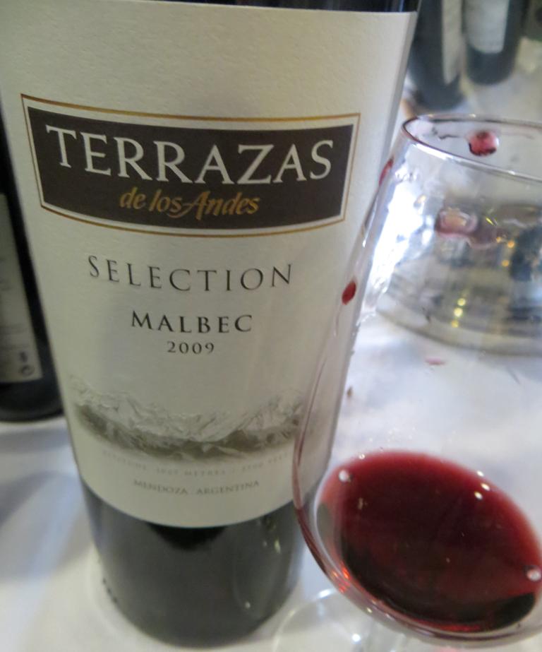 Urbina Vinos Blog Terrazas De Los Andes Selection Malbec 2009
