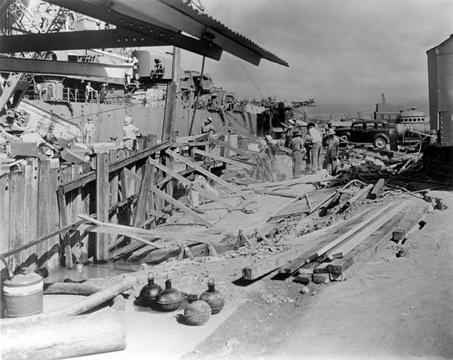 USS Helena in Pearl Harbor, 24 December 1941 worldwartwo.filminspector.com