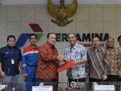Pertamina Refinery Unit III Plaju Bersinergi dengan Universitas Sriwijaya