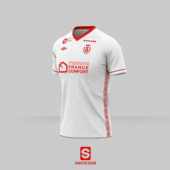 Same Designer As Nantes New Stade Reims Logo Revealed Footy