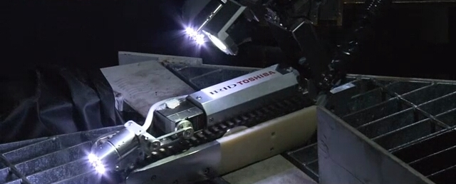 Robot Pendeteksi Kerusakan Nuklir