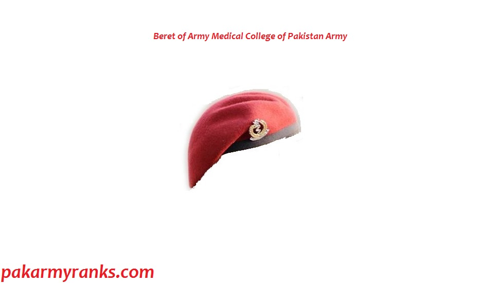 Beret Of Cadets Who Join Army Medical College