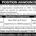 Muslim Hand International Relief And Development Organization Lahore Jobs