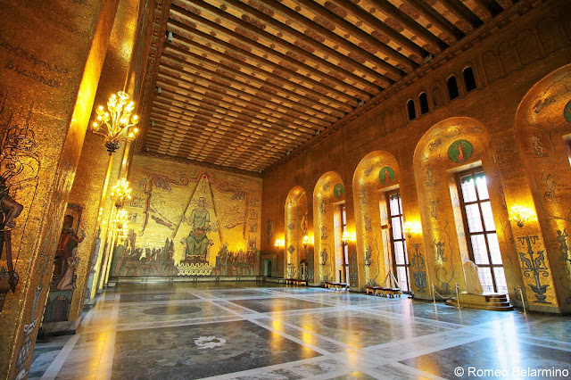 Golden Hall City Hall Things to Do in Stockholm Sweden