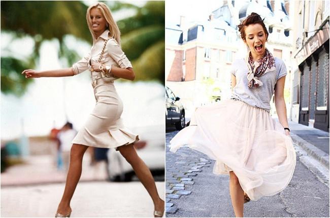 ladylike cute beige outfits