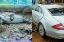 Man Emerges Unhurt As His Car Somersaults 3 Times