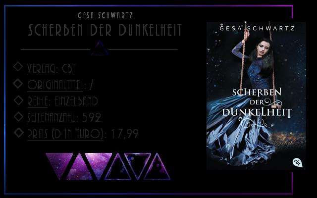 [Rezension] Scherben der Dunkelheit - Gesa Schwartz