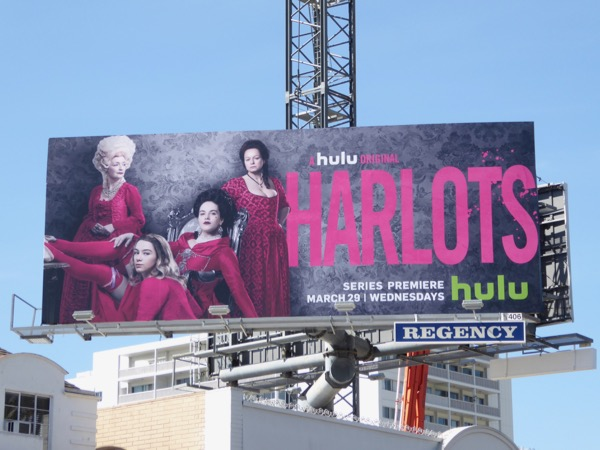 Harlots season 1 billboard