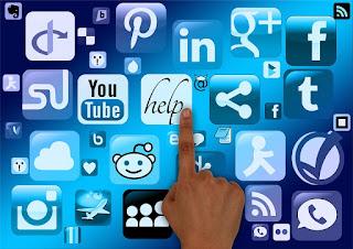 redes sociales tienda