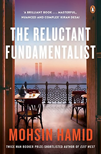 Book cover for Mohsin Hamid's The Reluctant Fundamentalist in the South Manchester, Chorlton, and Didsbury book group