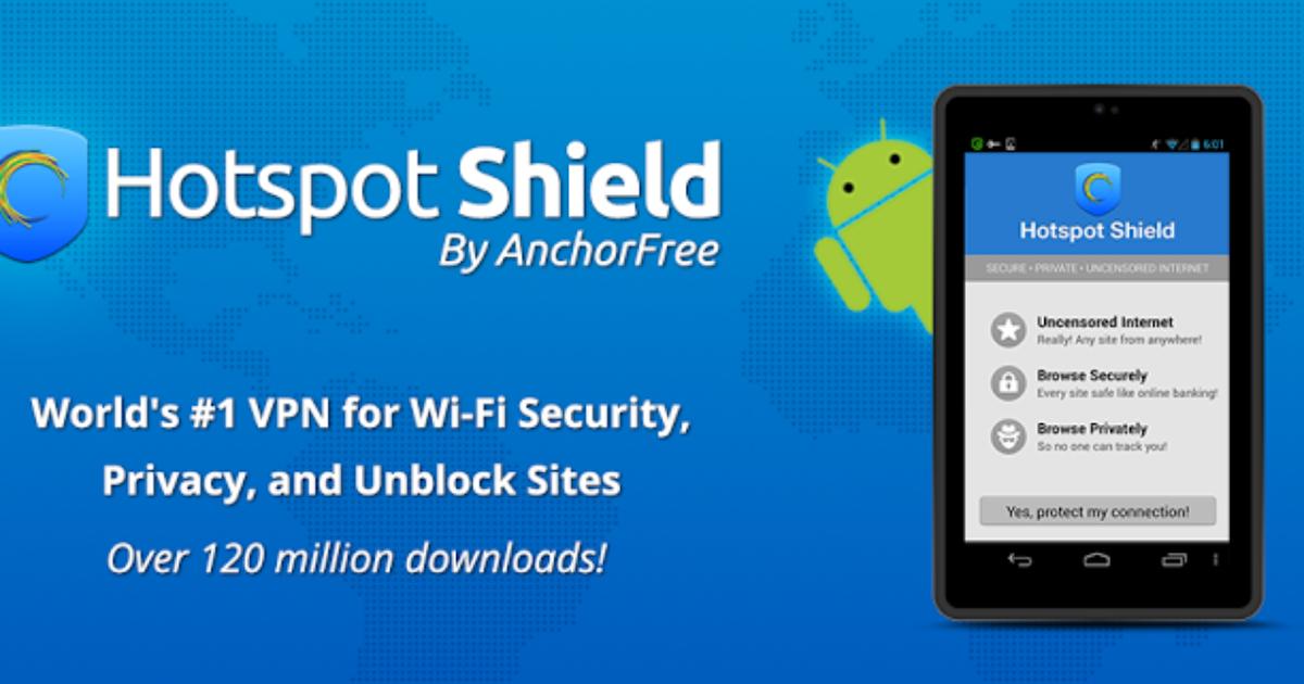 hotspot shield elite full version android