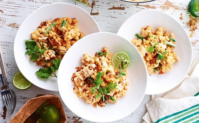 Resep Risotto Ayam Thailand Super Lezat