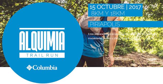18k y 8k Alquimia Trail Run en sierras de Piriápolis (Maldonado, 15/oct/2017)