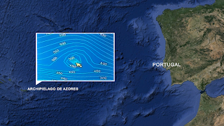 Resultado de imagen de Pirámide submarina encontrada en el Atlántico.
