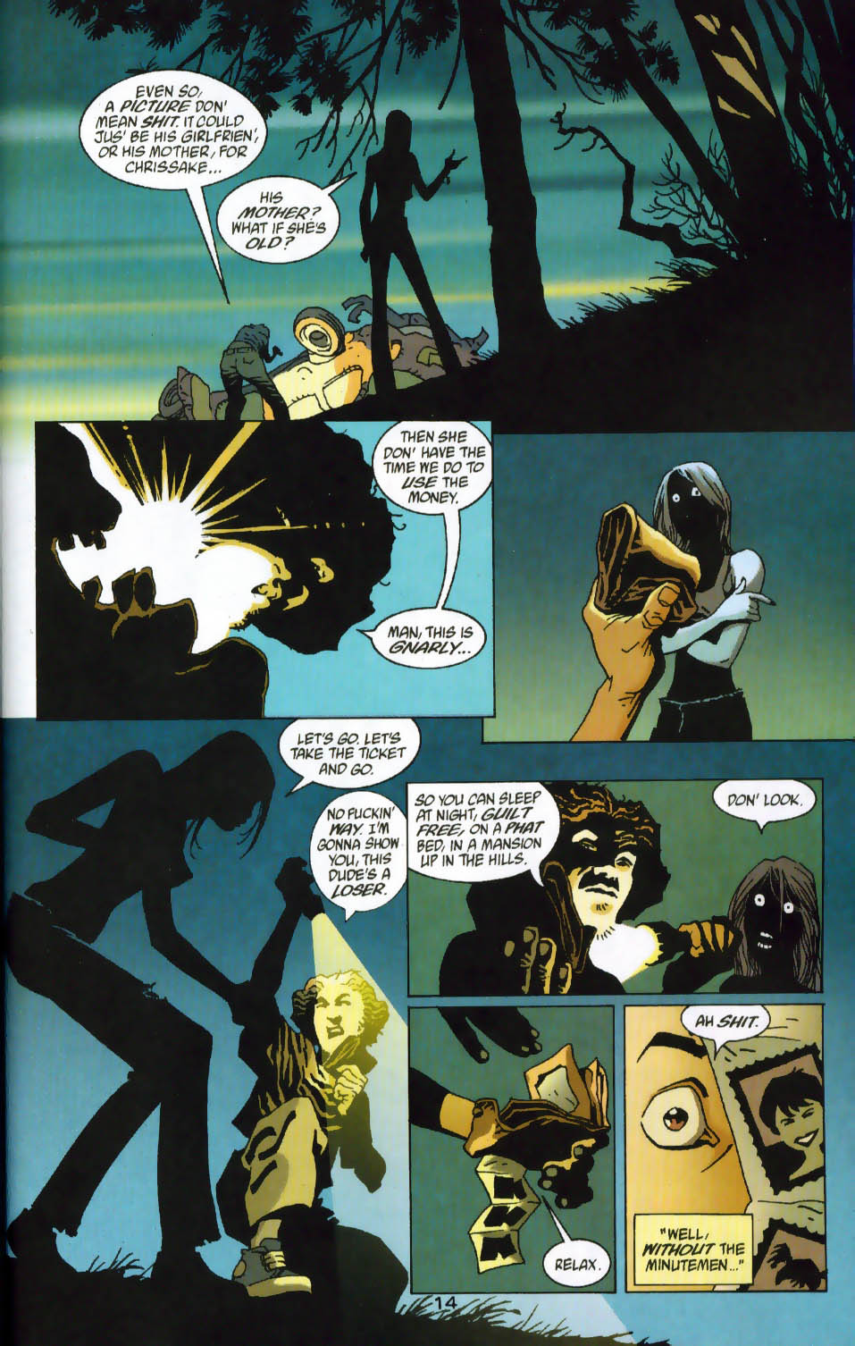 Read online 100 Bullets comic -  Issue #41 - 16