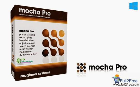 Imagineer Systems mocha Pro 4.0.1 Build 9018 + Crack