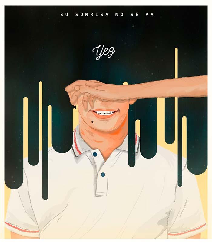 Ilustración, Su sonrisa no se va de Julian Hernandez