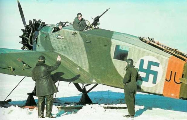 Junkers K43 color photos of World War II worldwartwo.filminspector.com