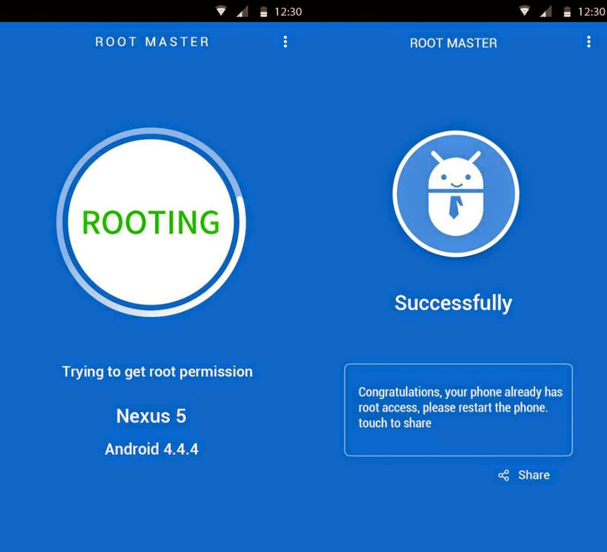 Easily Root Android Device With Root Master