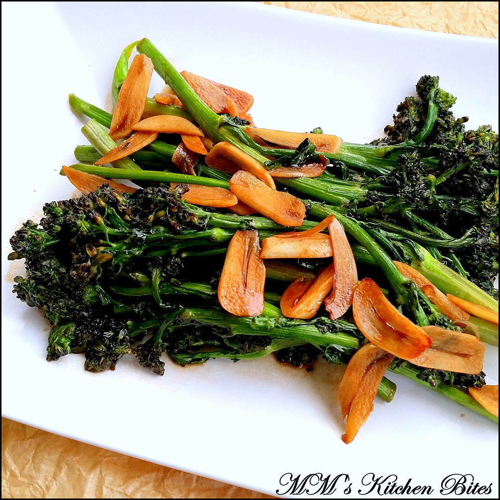 how to cook chinese broccoli with garlic