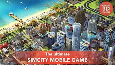 SimCity BuildIt MOD v1.12.7.42630 APK Update Terbaru