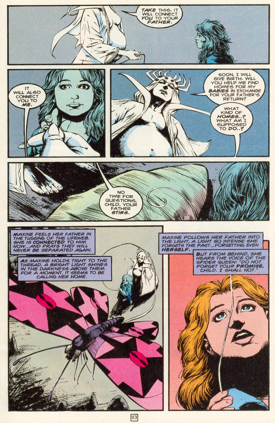 Read online Animal Man (1988) comic -  Issue #81 - 24