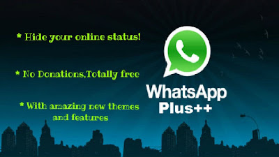 تحميل الواتس اب الازرق اخر اصدار download WhatsApp PLUS Arabk free v4.35