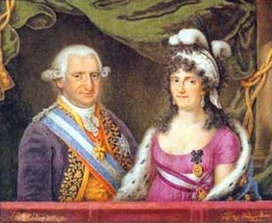 Carlos IV y María Luisa de Borbón-Parma