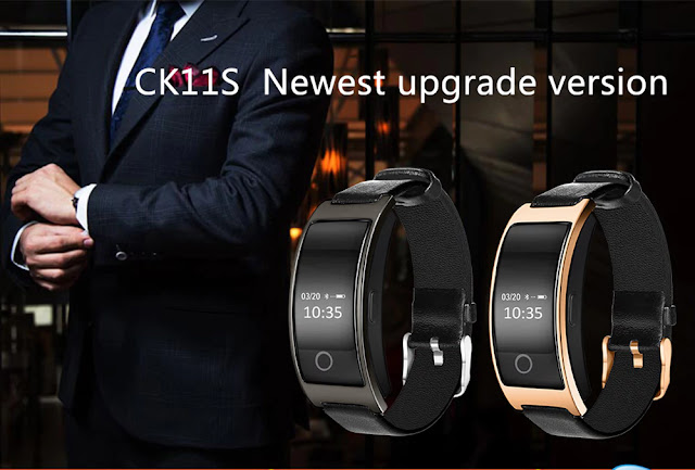 Coupon & Review CK11S Smart Band Blood Pressure Heart Rate Monitor