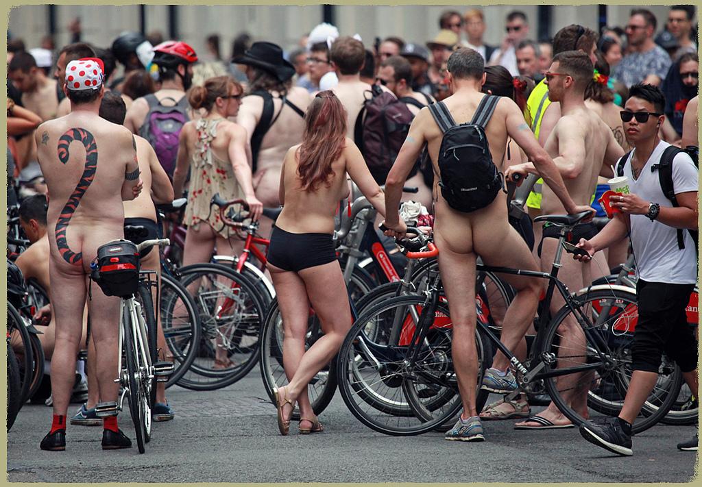 cfnm naked bike ride in london