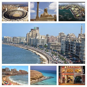 Roman Amphitheatre, Pompey Pillars, Alex Shipyard, Kota Alexandria, Pantai Alexandria, Laut Mediterania, dan Abu Fares Syrian Resto