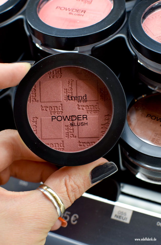 trend IT UP Powder Blush, neues Sortiment 2017