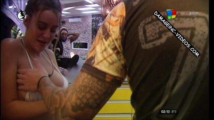 Yasmila Mendeguia get her tits groped and garbed damageinc videos HD