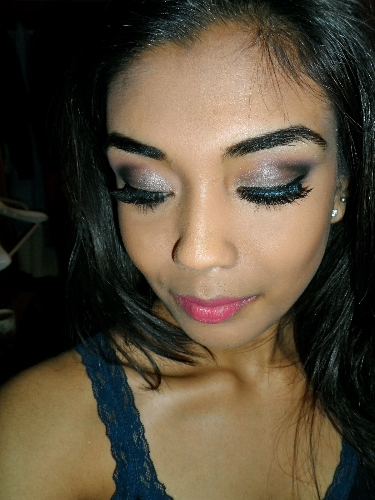 Smokey Eye Makeup: Makeup By Krishie: Smokey Eyes & Pink Lips