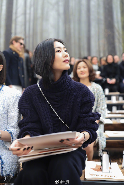 Paris Fashion Week 2018 Chanel Liu Wen