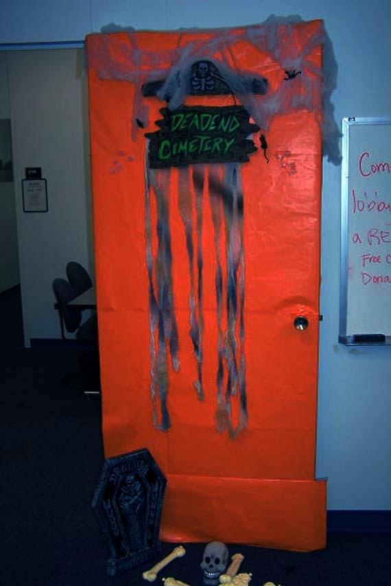 Halloween Office Door Decorating Contest Ideas Style ...