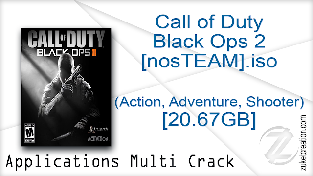 Call of Duty Black Ops 2 [nosTEAM].iso (Action, Adventure, Shooter) [20.67GB]