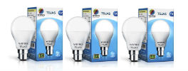 Wipro Tejas 7W LED Bulb Pack of 3 Rs 291 at Snapdeal rainingdeal