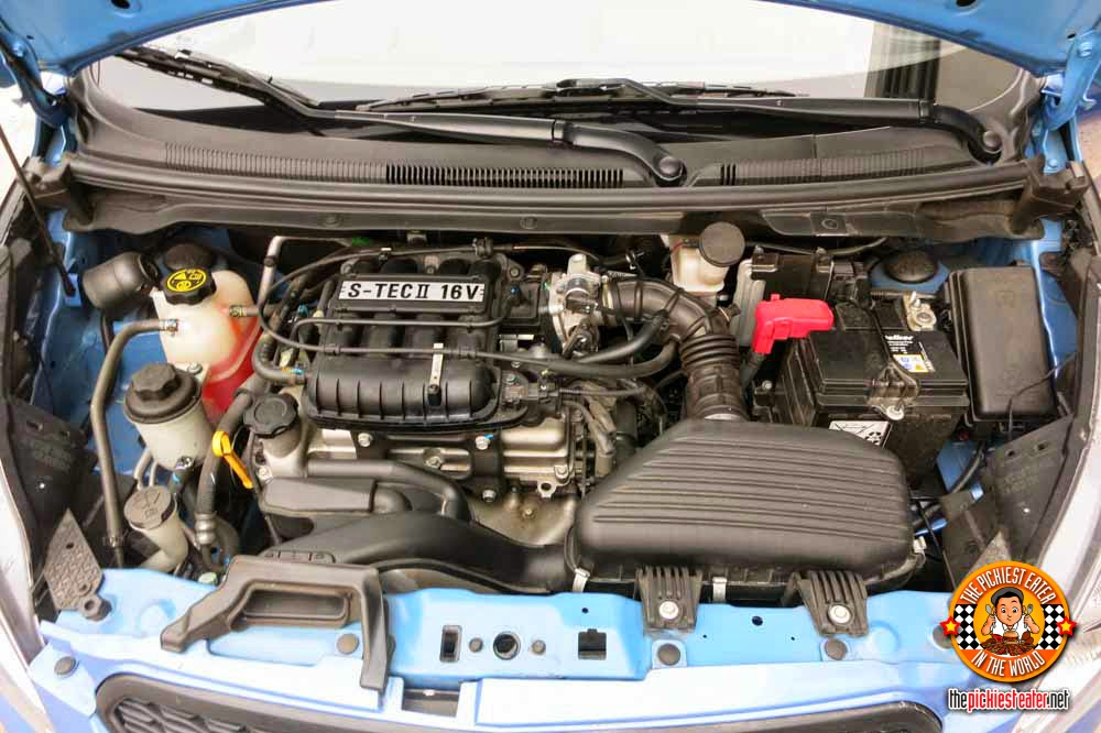 Chevrolet Spark engine