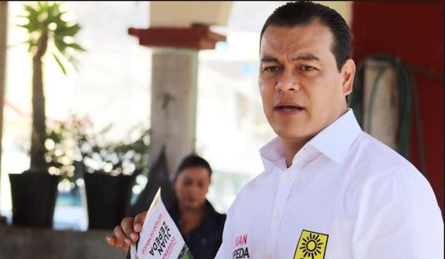 Juan Zepeda quiere alianza con el PVEM