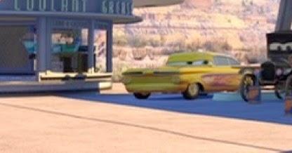 Dan The Pixar Fan Cars Yellow Ramone