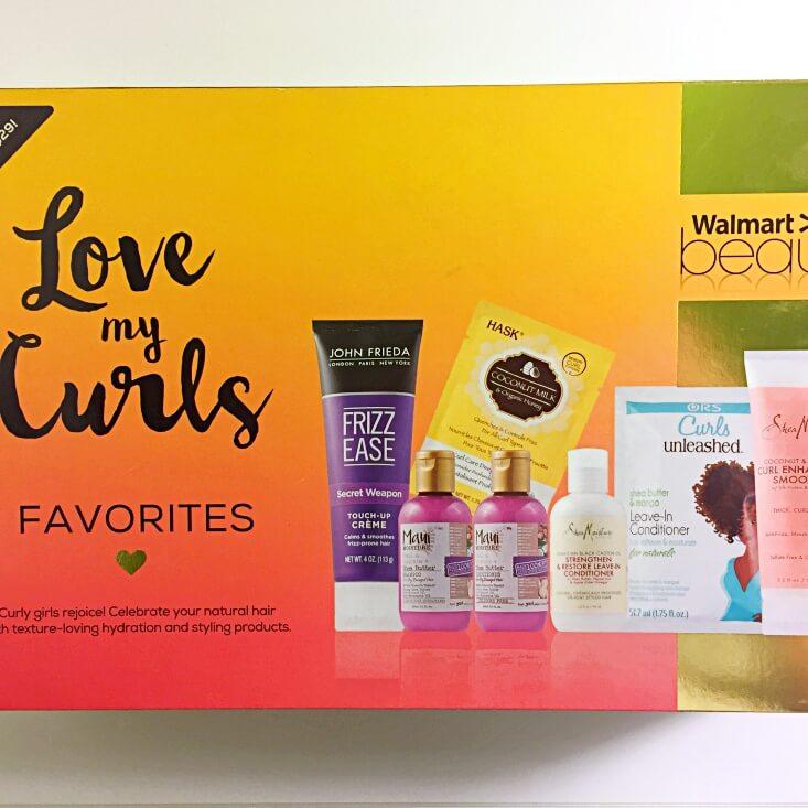 Walmart Beauty Favorites Box Love My Curls