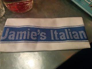 Jamie's Italian Review - A Napkin