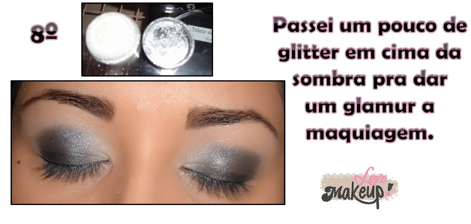 Love Makeup  Maquiagem Passo a Passo  Preto e Prata f6d187db92