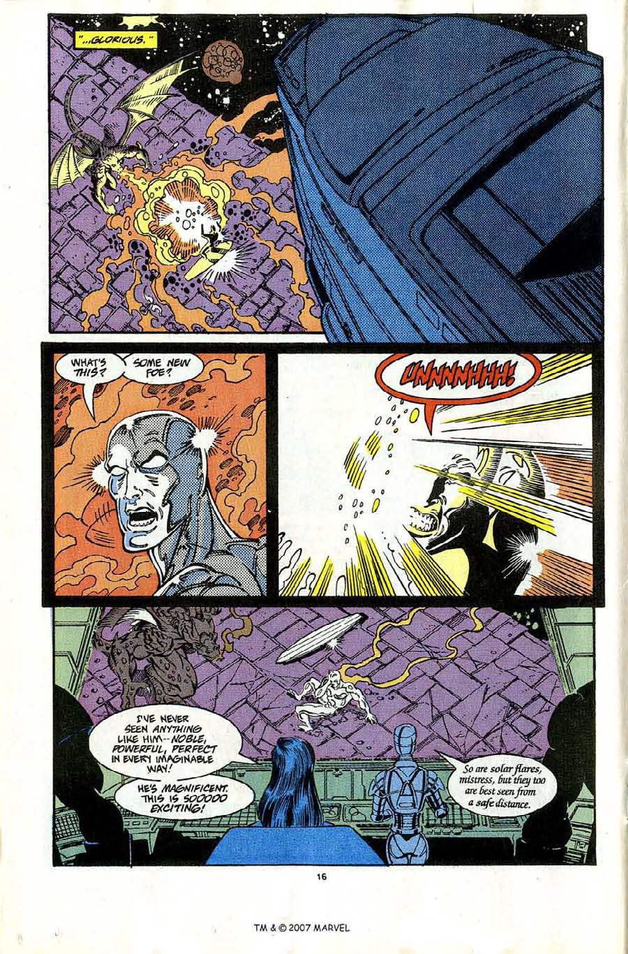 Read online Silver Surfer (1987) comic -  Issue #65 - 18