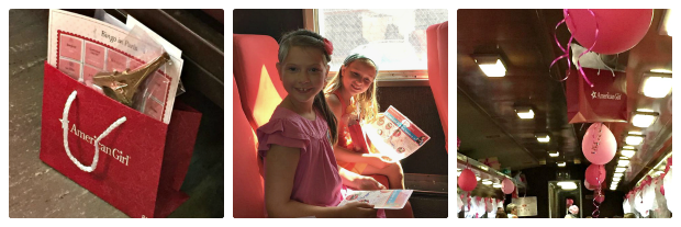 American Girl Doll Grace Thomas Train Experience_New England Fall Events_Party and Gift Bag